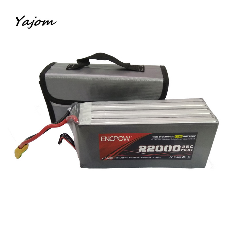 2017 New Hot Sale LiPo Li-Po Battery Fireproof Safety Guard Safe Bag 220*100*75MM Brand New High Quality Mar 13