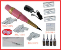 NUEVA EyebrowTattoo Kits de Maquillaje Permanente de Cejas maquillaje Kit Máquina Con Tinta Consejos Anillo de Maquillaje Pen Tattoo Supplies