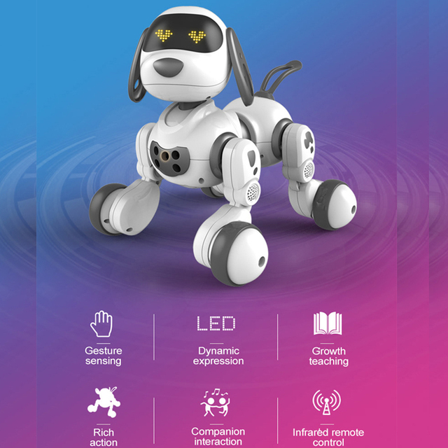 2.4Ghz Remote Control  Intelligent Robot Dog Toy Smart Talking Robot Interactive Puppy Toys  Electronic Pet Toys For Kids