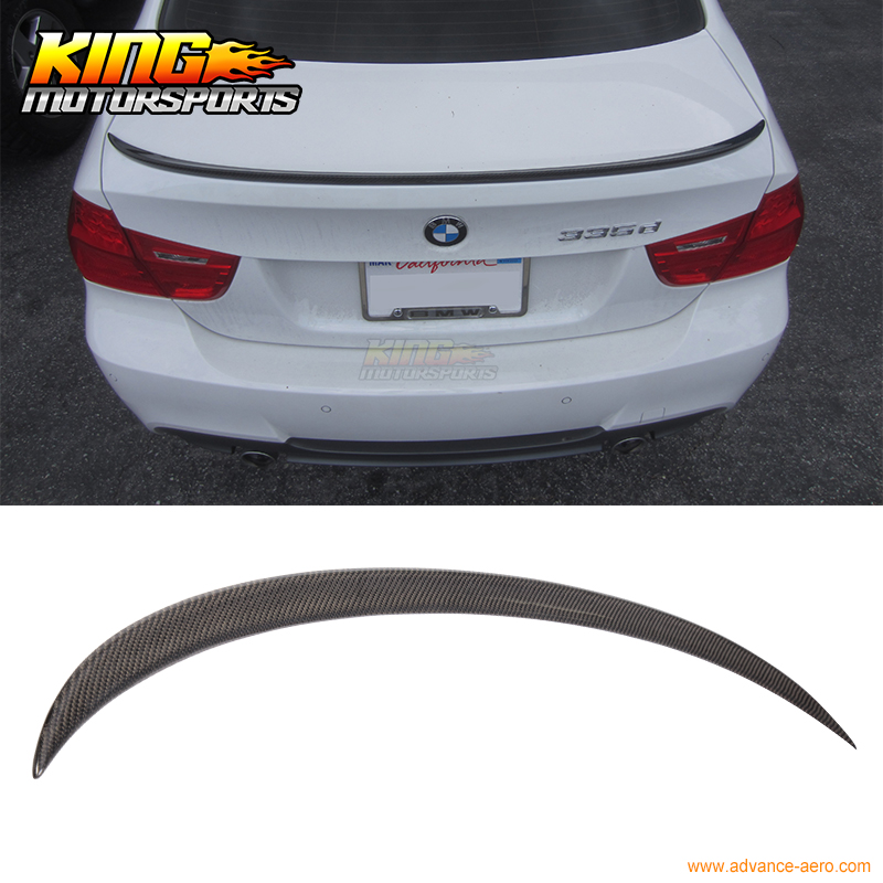 For 2005 2011 BMW 3 Series E90 4D Sedan M3 Style Carbon