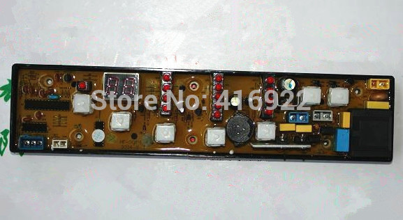 Free shipping 100% tested for washing machine Computer board XQB50-81J HF-5081F-X XQB-5081F-X control board motherboard 100% tested for washing machine board wd n80051 6871en1015d 6870ec9099a 1 motherboard used board