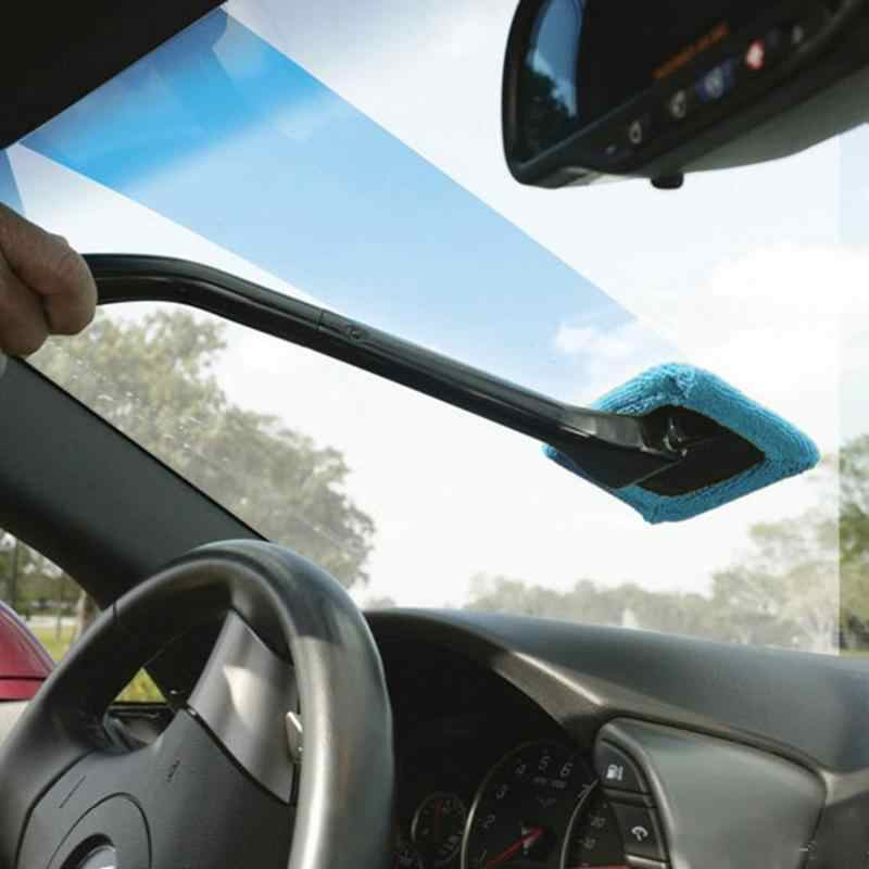 Auto Auto Pulizia dei finestrini Pennello Manico Lungo Spazzola di Polvere di Lavaggio Auto Strumenti di Auto Parabrezza Asciugamano A Portata di mano Auto Lavabile Pulito Pulito Lavabile