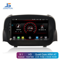 JDASTON Android 9,1 автомобильный dvd плеер для Ford ECOSPORT 2013 2016 wifi gps навигация 2 Din Автомобильный Радио стерео Мультимедиа RDS ips