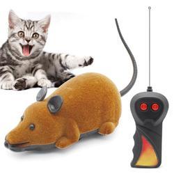 2 Mode sans fil électrique RC Rat souris télécommande animal de compagnie drôle jouer souris jouet chat chaton jouer jouets enfants jouets