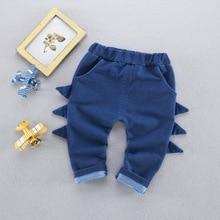 3d Dinosaur Denim Kids Boys Girls Denim Pants Trousers Toddler Newborn Baby Boy Jeans Clothes Free Shipping