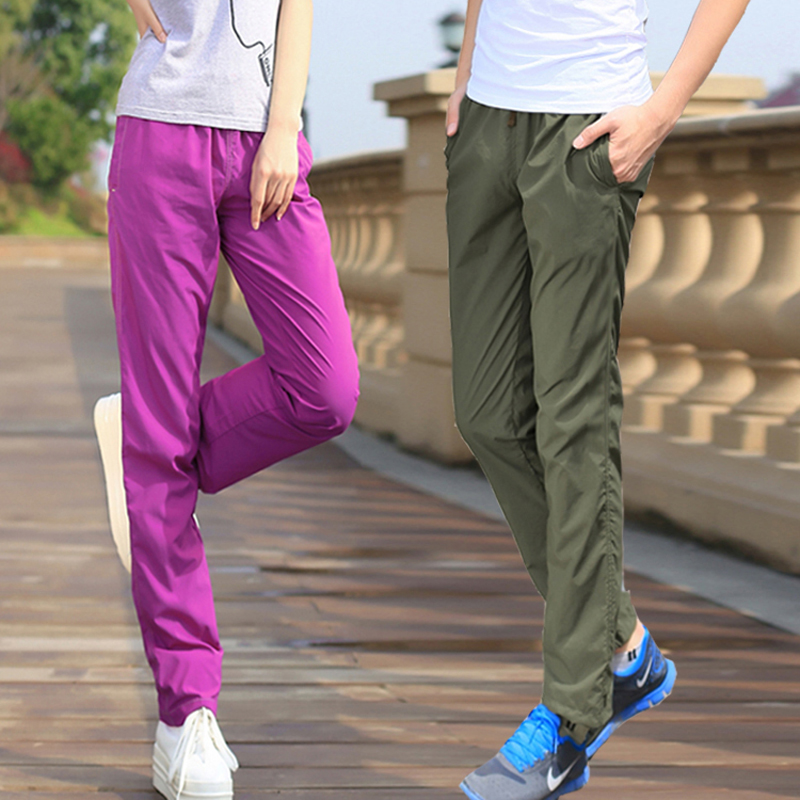 6color outdoor pants men women hiking quick dry breathable for Lightweight fishing pants