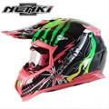 (1pc&5colors) High Quality ABS Material Brand NENKI MX315 Motocross Helmet Off Road Motorcycle Capacete Helmets Racing Casco