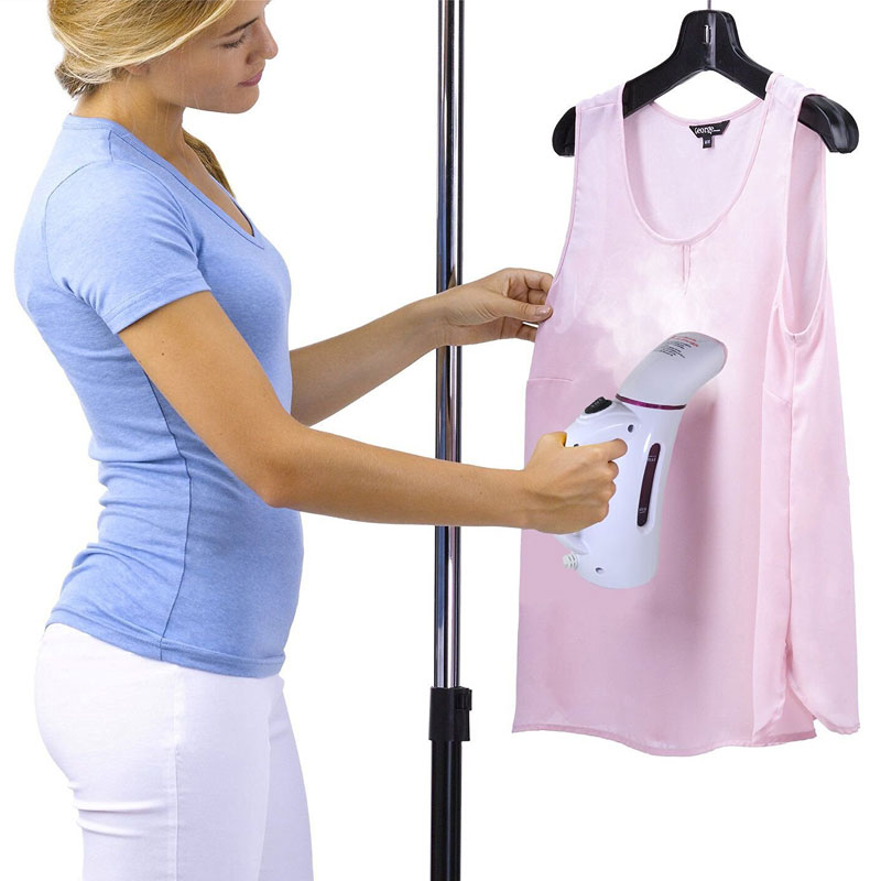 Image 2 - 110V 220V Vertical Garment Clothes Steamer with Steam Brush Laundry Appliances Ironing Irons Handheld Steamers Iron Pink-in Garment Steamers from Home Appliances