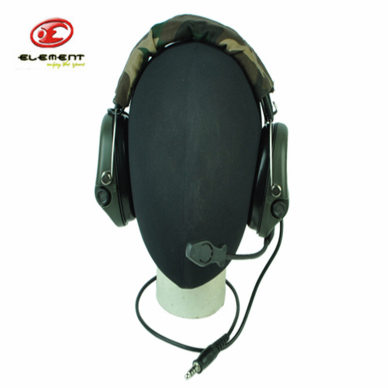 Z-Tactical Noise Reduction Tactical Military Airsoft Army Headset Without PTT Adapter Noise Cancelling Reduction Headphone z tactical military headset headphone airsoft radio comtac ipsc od for ptt military radio z 111