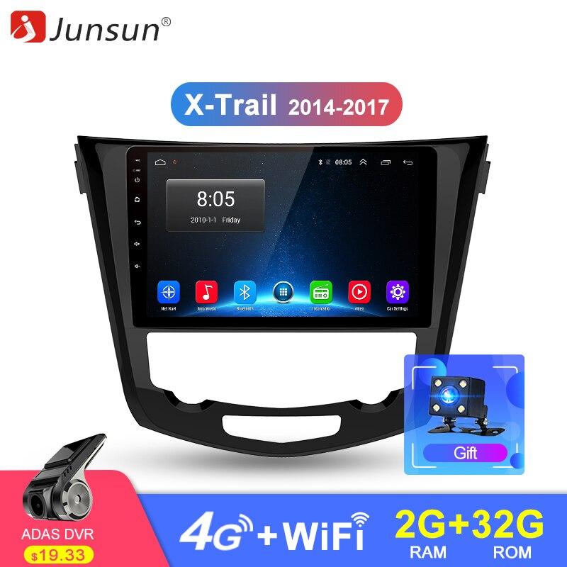 Junsun 2 Din Android 8 1 2G RAM Car Radio Multimedia Player Navi GPS For Nissan
