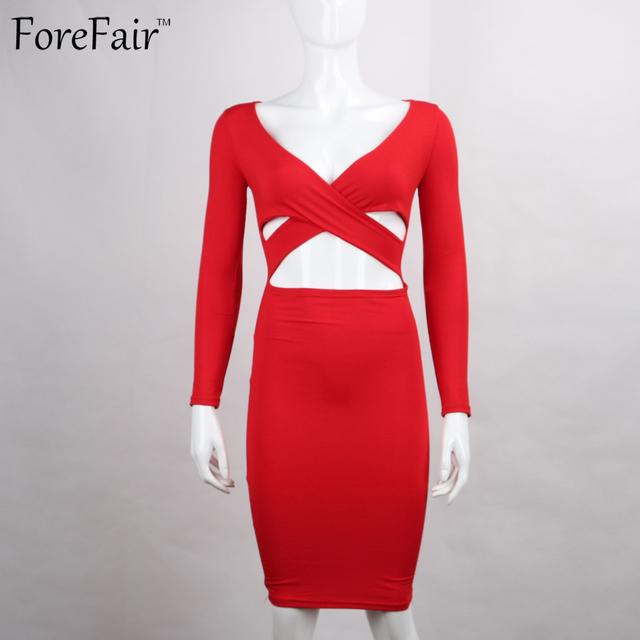 Long Sleeve Elastic Cotton Elegant Dresses