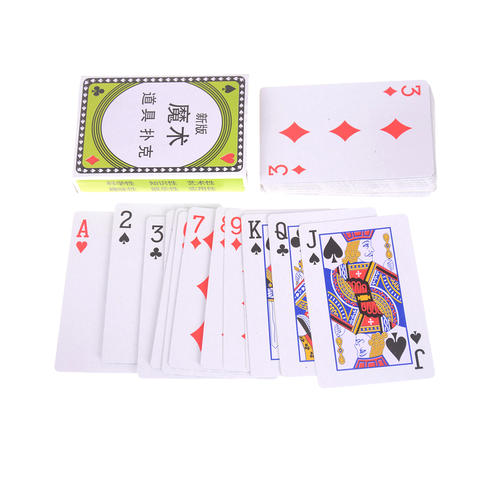 Wonderful Gift Poker Card Entertainment Party Magic Show Game Props Hot Sale Modern King Funny Playful Magical Tricks Poker Card Rapid Heat Dissipation Magic Tricks