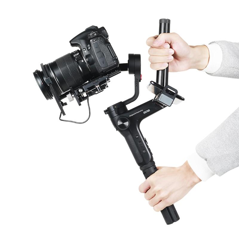 Zhiyun Weebill Lab stabilisateur de cardan à 3 axes pour appareil photo sans miroir Estabilizar Sony A7R3 6300 GH5 PK DJI Ronin S Crane 2