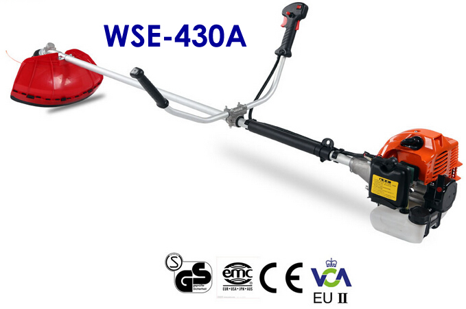 Factory Direct Supply! WSE-430 2 Stroke 42.7CC Brush Cutter/Grass Trimmer with CE and Low Price