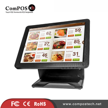 15 Inch All in One Desktop PC with I/O Panel With Built-in Card Reader Cash Register Epos System Terminal PC