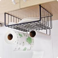 Wardrobe Storage Rack Kitchen Organizer Cabinet Shelf Creative Multi Functional Hanging Basket