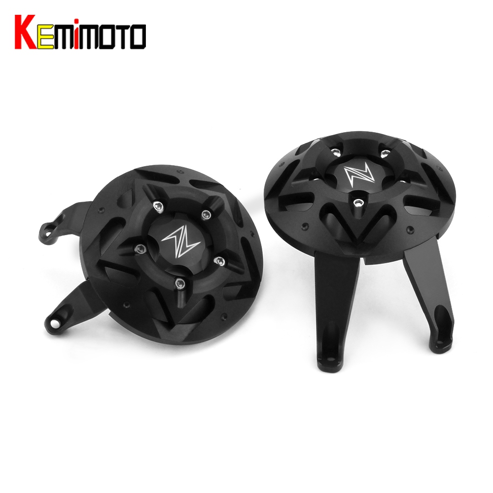KEMiMOTO for kawasaki Z900 2017 Fram Slider Engine Guard for kawasaki Z 900 Case Saver Cover Protection Accessories Parts Moto fram ch5979eco