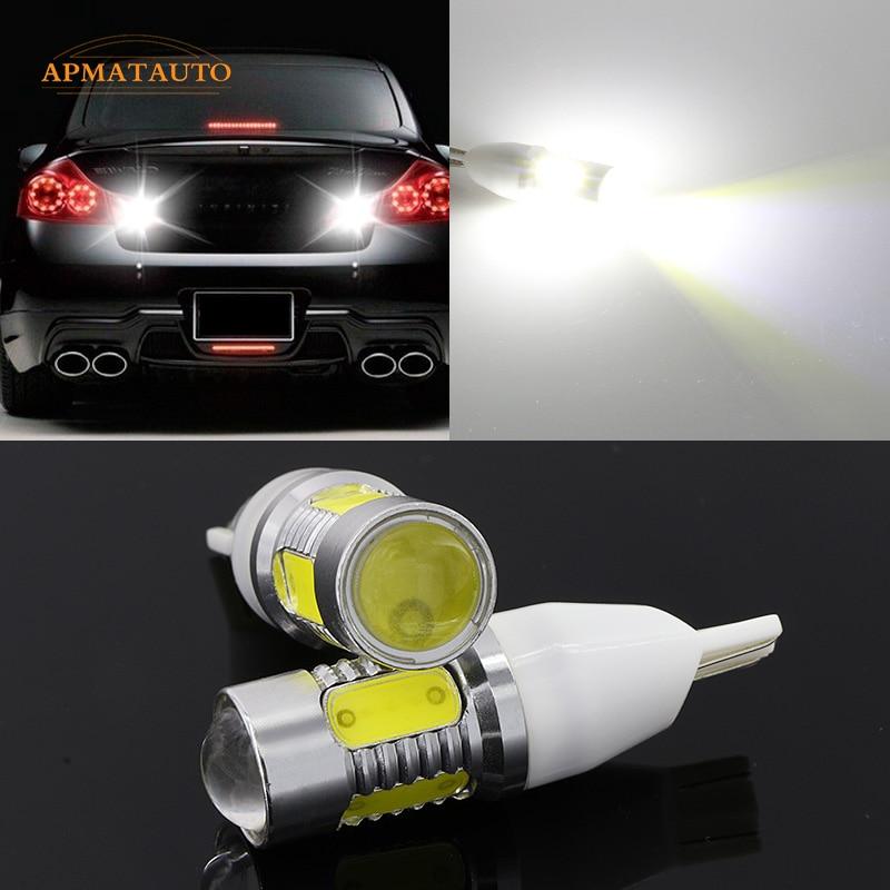 2x T15 T16 W16W Plasma LED Projector Blub Tail Reverse Light For Infiniti G37 G25 QX50/60 M37 M25L FX50 FX37 FX35 JX35 EX37 EX25