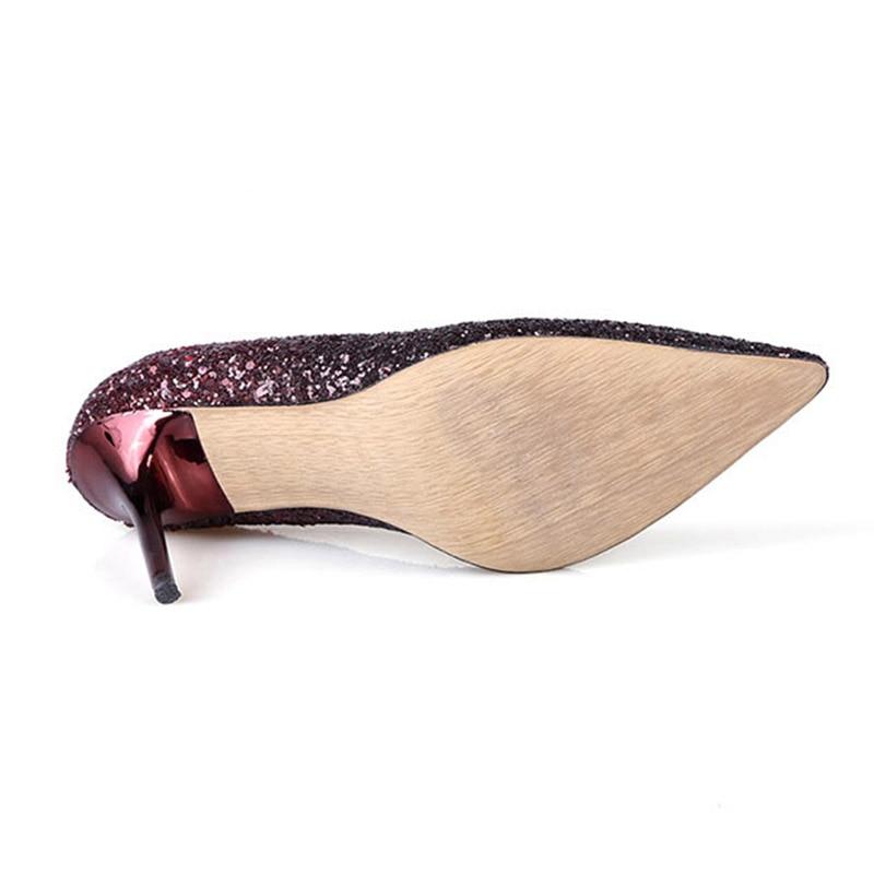 Shoes Scarpe Pompe Lustrini 6 Furtado Arden Party Primavera Sexy Tacchi E 9 silver Slip Panno 2017 6 Shade Cm L'autunno burgundy 5cm 5cm On Moda Alti Donna 5cm Burgundy 9 Di Per 6 HqqxTwn