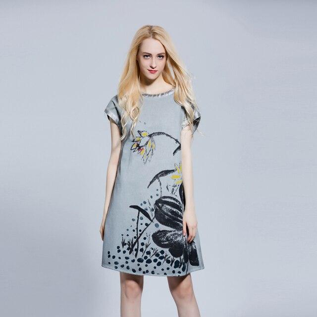 2017 Dresses Clothes For Women Ukraine Linen Sundress Sarafan Plus