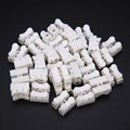 30pcs lot 2 Pins Electrical Cable Connectors CH2 Quick Splice Lock Wire Terminals Set 20x17.5x13.5mm