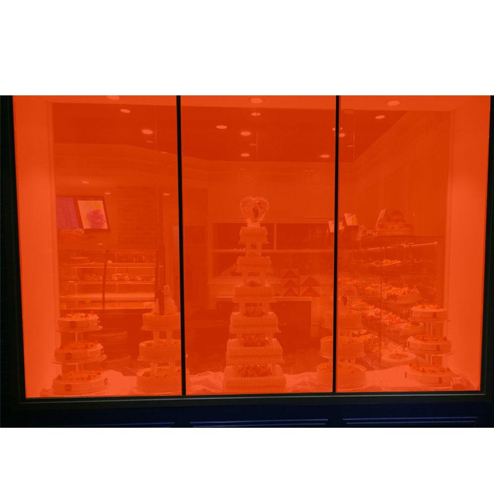 20% VLT Transparent Orange Colorled Decoration Window Film Sun Shade Window Film HOME and OFFICE DECORATION20% VLT Transparent Orange Colorled Decoration Window Film Sun Shade Window Film HOME and OFFICE DECORATION