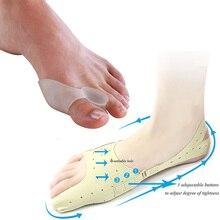 Silicone toe separator hallux valgus bunion corrector ingrown nail pedicure cuidado de los pies alluce valgo foot care toolD0188