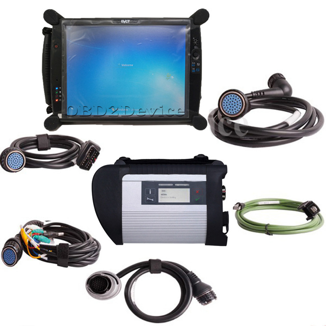 US $847 39 |High Quality MB STAR C4 MB SD Connect Compact 4 Car Diagnostic  Tool Brand New EVG7 Tablet V2019 03 Software Ready to Work-in Mechanical
