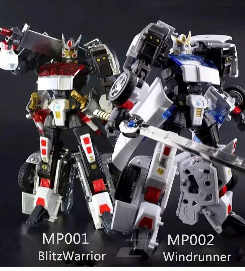 G1 Transformation FM Forging MP001 002 Blitz Warrior & Windrunner Classic Alloy Drift Action Figure Robot Toys автоакустика soundmax sm csd503 коаксиальная 3 полосная 13см 60вт 120вт