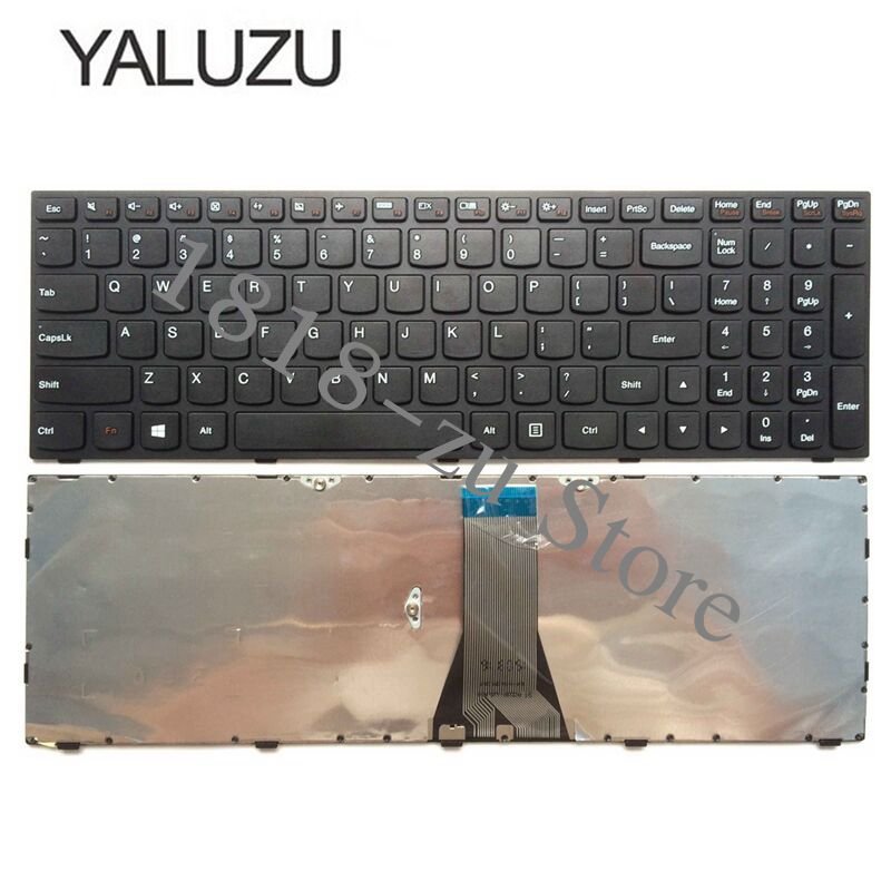 YALUZU New Keyboard FOR <font><b>LENOVO</b></font> G50 Z50 B50-30 B50-<font><b>70</b></font> B50-80 G50-70AT B50-<font><b>70</b></font> Z70-80 G50-<font><b>70</b></font> B50-<font><b>50</b></font> US laptop keyboard image