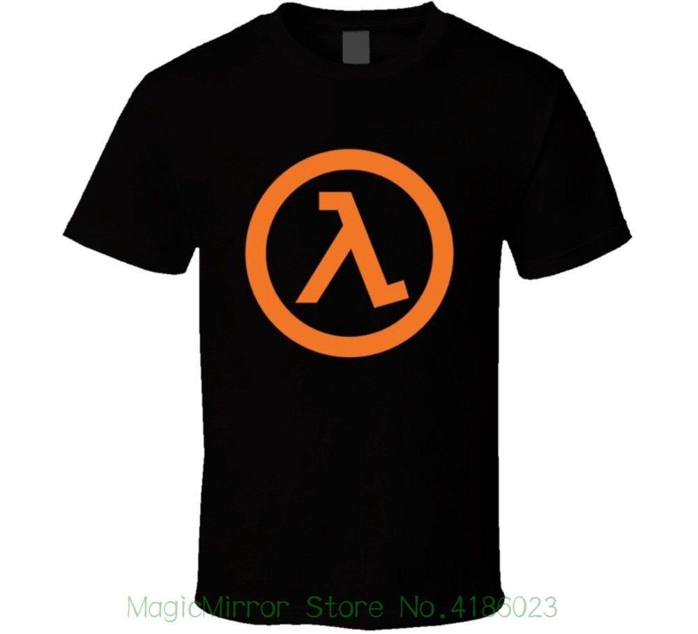 Half Life 2 - Lambda Video Game T Shirt New Fashion Mens Short Sleeve Tshirt Cotton T Shirts