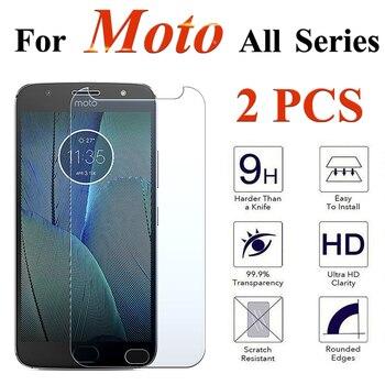 Перейти на Алиэкспресс и купить Защитное стекло для Moto One G5 G5s X Plus Play Tremp, защитное покрытие для экрана, закаленное стекло, защита 9H, 2 шт., для Moto One G5 G5s X Plus Play Tremp, защитная пленк...