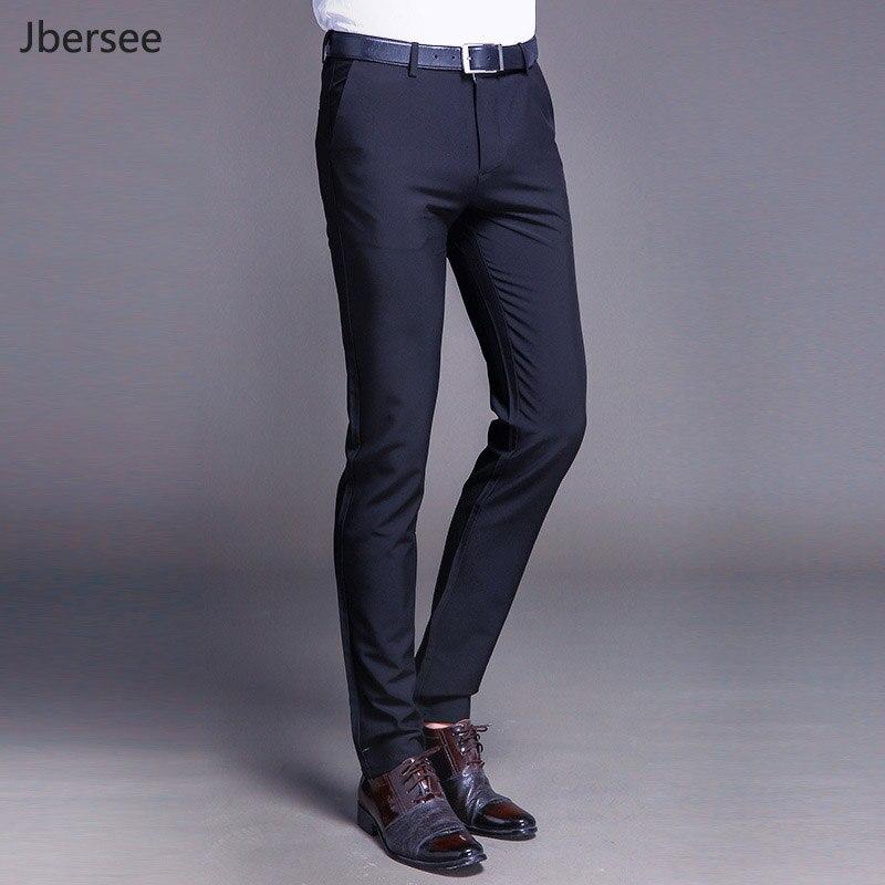 2313 49 De Descuentopantalones De Vestir Formales De Hombre Pantalones De Traje De Ajuste Ajustado De Negocios Casual Boda Hombres Negro Naranja