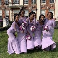 Золушки Африканский свет фиолетовая одежда с длинным рукавом комплектующие для бижутерии из кристала и кружева вышитый бисером сатин плат