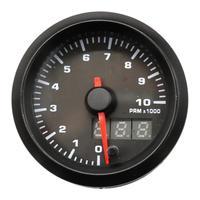 7 Color LED Backlight 0 10000RMP 12V Car Vehicle Tachometer Speedmeter Gauge tacometro auto tachometer LED display