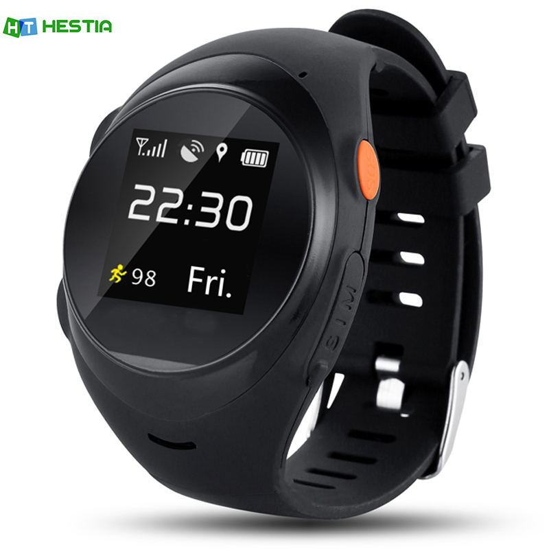 HESTIA Elderly anti - lost children s students GPS positioning watches SOS Emergency Call Smartwatch GPS LBS Wifi 2G SIM Card