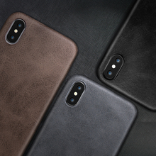 Ультратонкий чехол для телефона s для iPhone 6S 6 7 8 Plus XS Max, кожаный мягкий силиконовый чехол из ТПУ для iPhone XR X