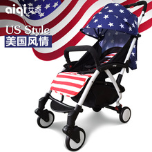 Aiqi Baby Stroller Super Light  Umbrella cart  Can Lie and  Sit Children's Trolley