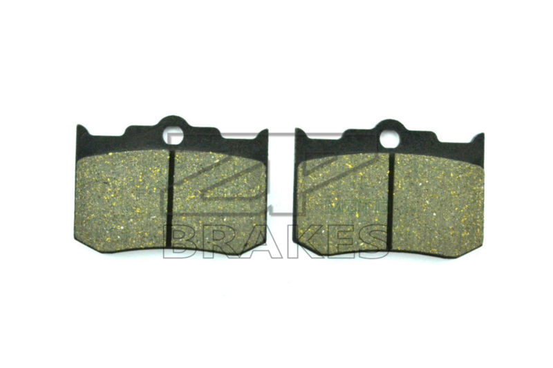 New Organic Brake Pads For Front PERFORMANCE MACHINES 137X4B Caliper - 124X4HR - Motorcycle braking callahan [ 2 ] front performance grade semi loaded red caliper set ceramic brake pads