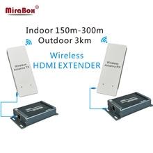 Wireless HDMI Sender Empfänger, HSV891W 1080 P Drahtlose HDMI Extender Bis Zu 3 KM Outdoor DHL/EMS/Aramex Freies Verschiffen