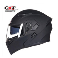2017 New Knight Protection Equipment GXT Flip Up Motorcycle Helmet ABS Undrape Face Motorbike Helmets With
