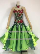 Standard Ballroom Dance Dress Adult High Quality Custom Made Women Waltz Competition Dresses