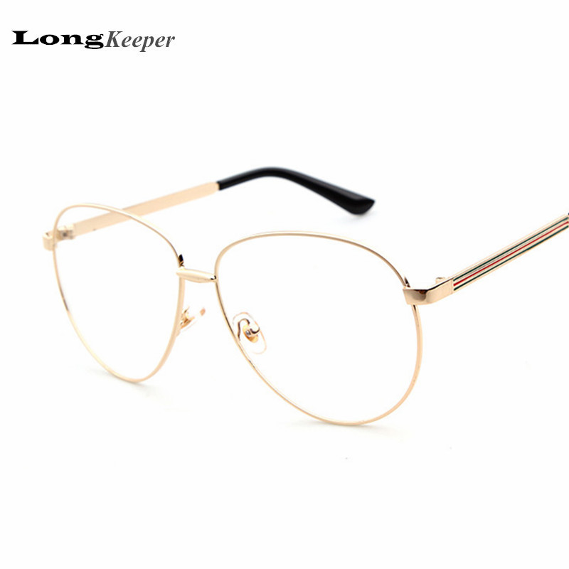 Eyeglass Frame Styles For 2017 : Aliexpress.com : Buy LongKeeper High Quality Glasses Frame ...