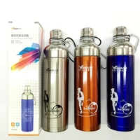 Stainless Steel Vacuum Thermo Water Bottle Thermal Cycling Bike Bicycle Sports Bottle To Water Bottle For