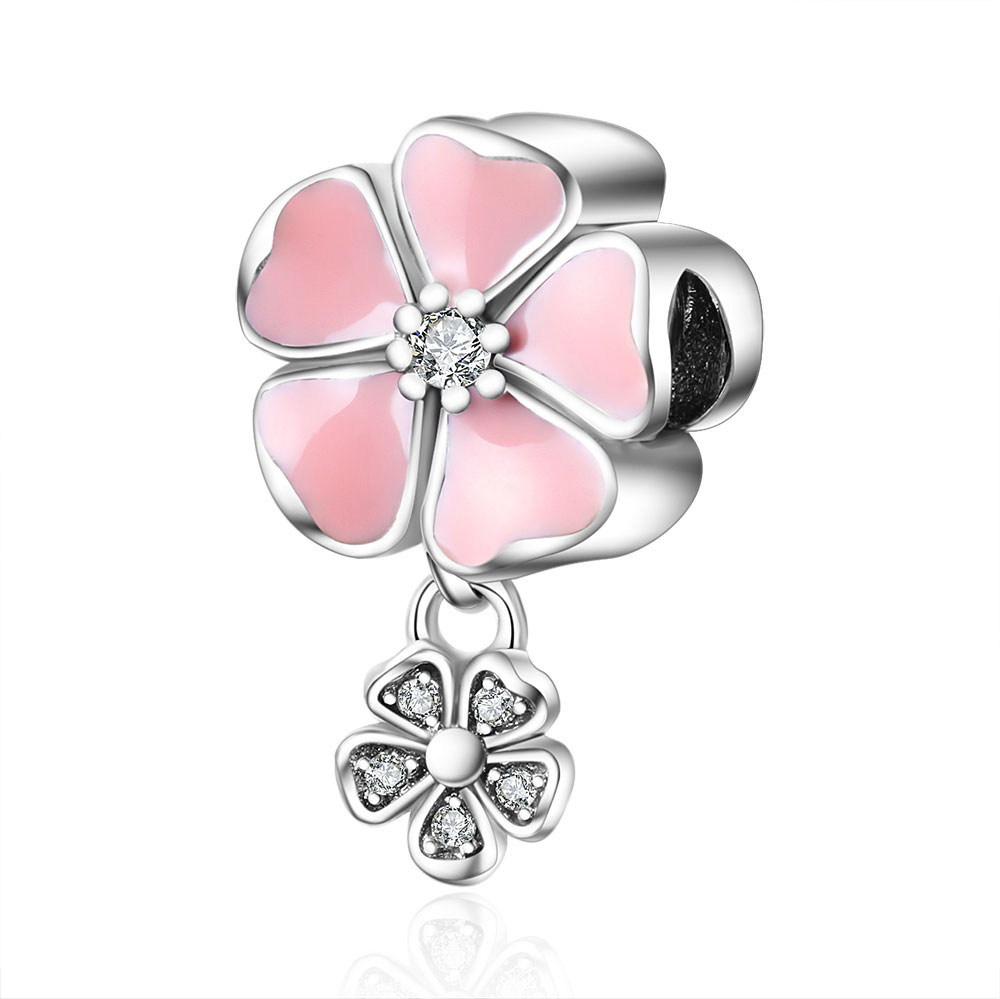 Aliexpress 100% 925 Sterling Silver Charm Beads Fit Original Pandora Charms Bracelet Authentic Luxury DIY Jewelry Accessories