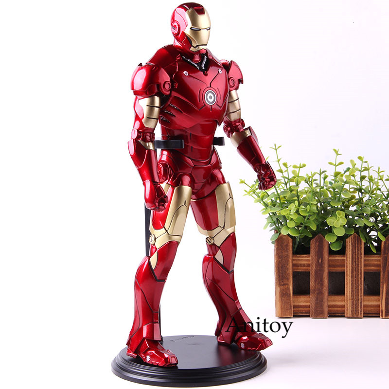 Marvel Avengers Infinity War Iron Man Action Figure PVC Collezione