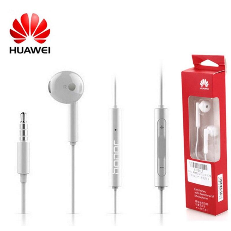 Huawei Honor AM115 Écouteurs Avec Mic In-Ear Sport Écouteurs Filaire Musique Casques Pour XIAOMI HUAWEI Android HTC ONEPLUS ASUS