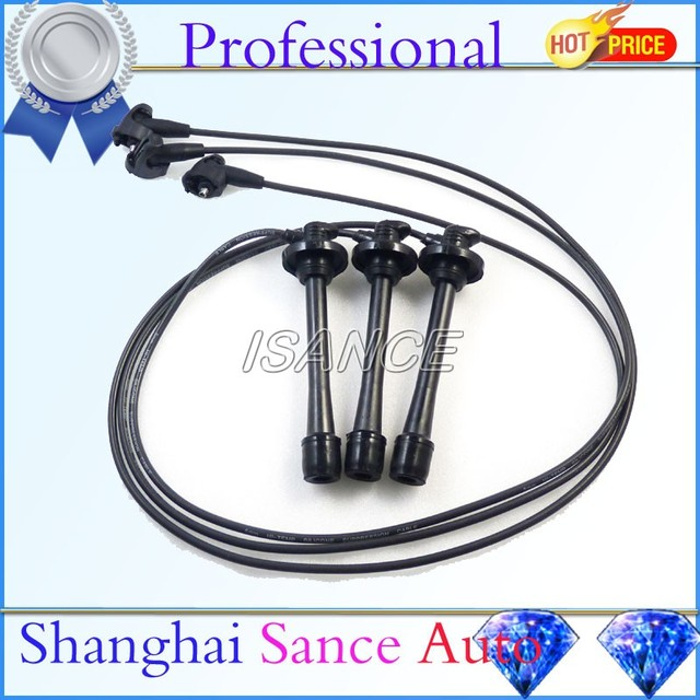 ISANCE Ignition Spark Plug Wire Set For Toyota Tacoma Tundra 4Runner ...