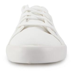 Image 3 - キャンバスシューズ男性スニーカー夏の男のカジュアル男性の靴大人 sapato masculino ホワイトスニーカーレースレースアップコットン生地の靴