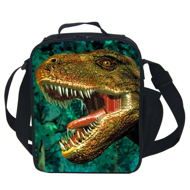 Dinosaur Lunch Bag For Kids School Boys Girls Thermal Lunch Bags For Kids Children Gifts-Various